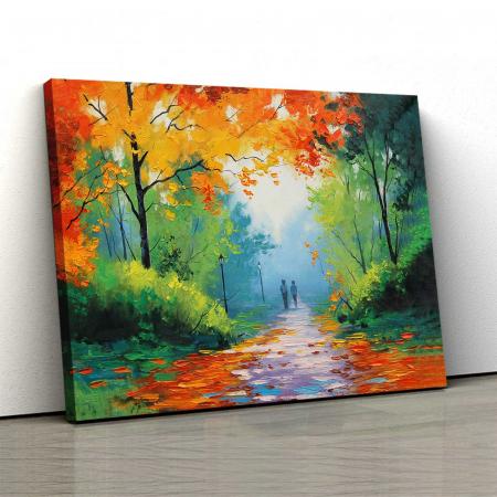Tablou Canvas - Pastel De Toamna0