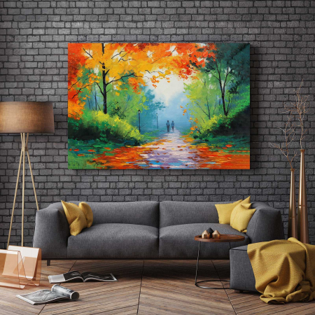 Tablou Canvas - Pastel De Toamna2