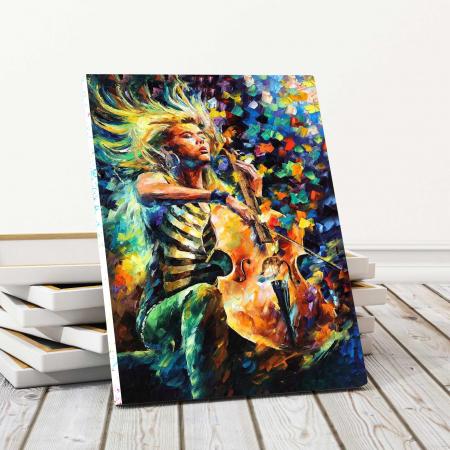 Tablou Canvas - Pictura Muzicala [0]