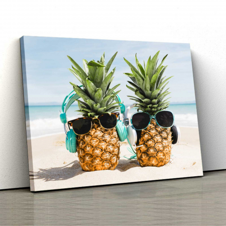 Tablou Canvas - Pineapple Holiday0