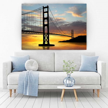 Tablou Canvas - Pod Golden Gate1