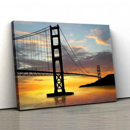Tablou Canvas - Pod Golden Gate0