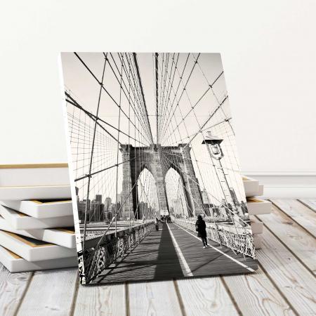Tablou Canvas - Podul Brooklyn0