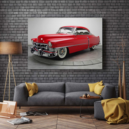 Tablou Canvas - Red Car [2]
