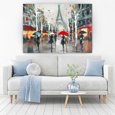 Tablou Canvas - Relaxare In Paris1