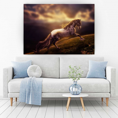 Tablou Canvas - Running Horse [1]