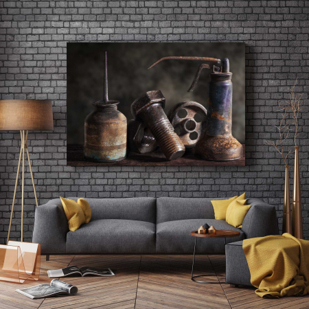 Tablou Canvas - Rusted2
