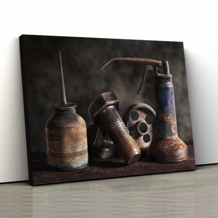 Tablou Canvas - Rusted0