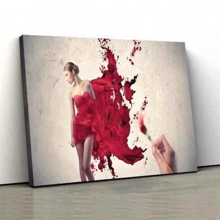 Tablou Canvas - Show Girl0