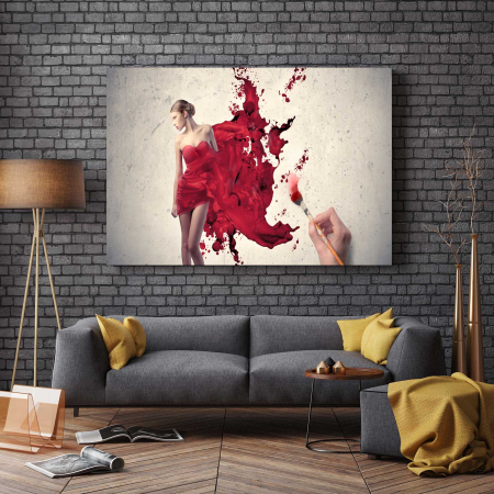 Tablou Canvas - Show Girl2