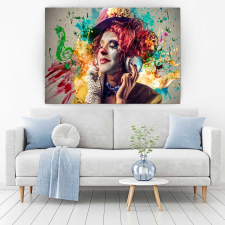 Tablou Canvas - Simte Muzica1