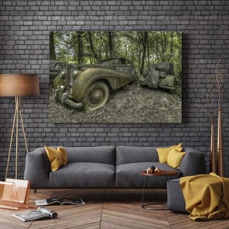 Tablou Canvas - Static Car [2]