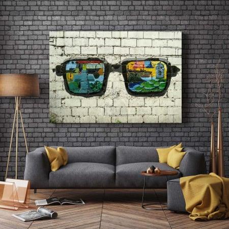 Tablou Canvas - Sunglasses2