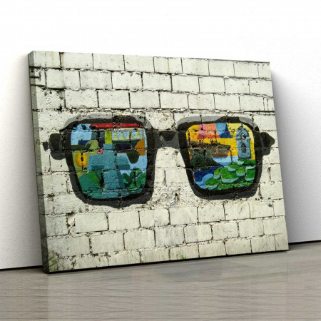 Tablou Canvas - Sunglasses0