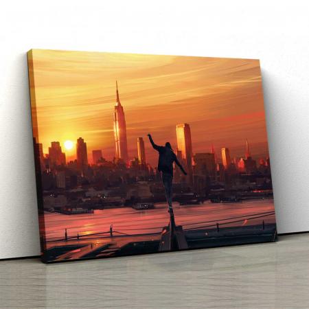 Tablou Canvas - Sunset City [0]