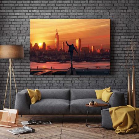 Tablou Canvas - Sunset City [2]