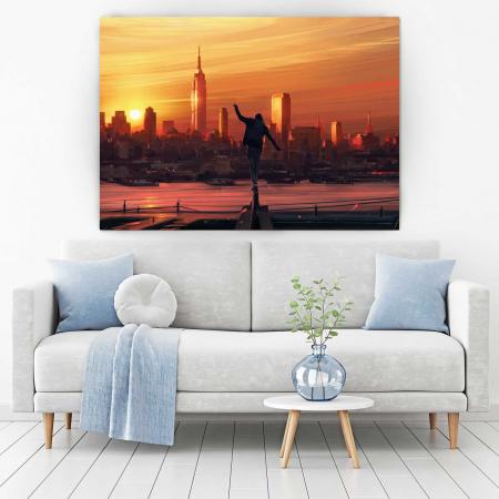 Tablou Canvas - Sunset City [1]