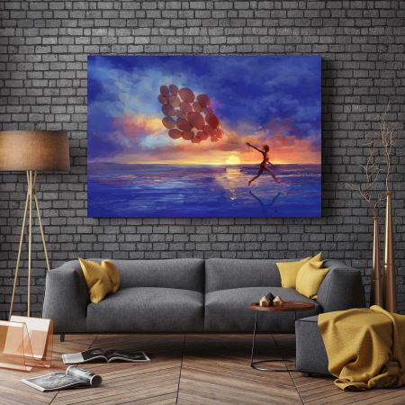 Tablou Canvas - Sunset Walk2