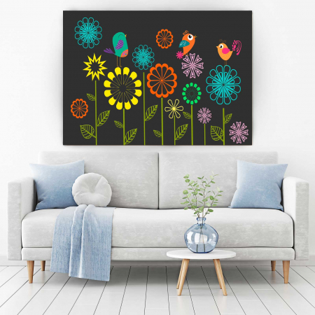 Tablou Canvas - Sweet Flowers [1]