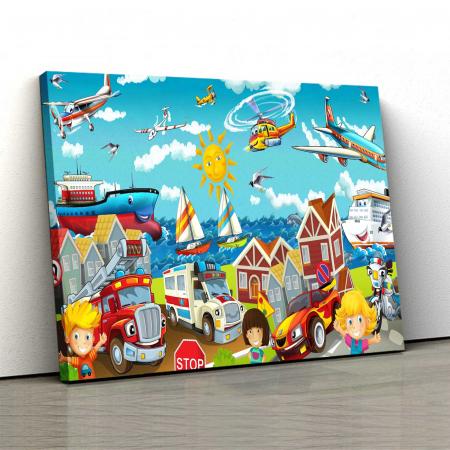 Tablou Canvas Copii - Lumea Copiilor [0]