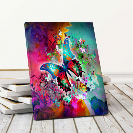 Tablou Canvas Copii - Butterfly [0]