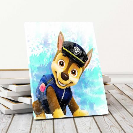 Tablou Canvas Copii - Happy Dog0