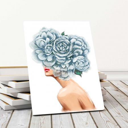 Tablou Canvas - Flower Lady0