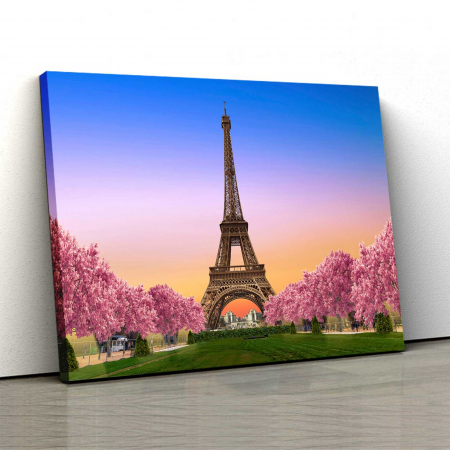 Tablou Canvas - Paris, te ador !0