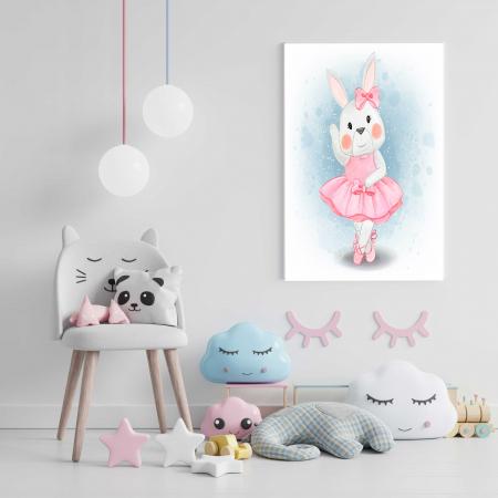 Tablou Canvas Copii - Hello Bunny1