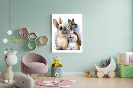 Tablou Canvas Copii - Bunny [1]