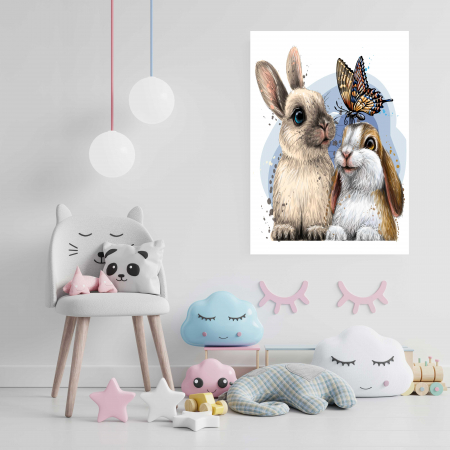 Tablou Canvas Copii - Bunny [2]