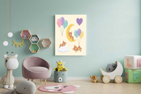 Tablou Canvas Copii - Sleep Bear1