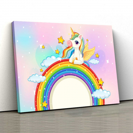 Tablou Canvas Copii - Unicorn [0]