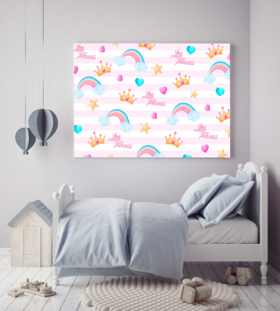 Tablouri Canvas Copii - Little Princess1