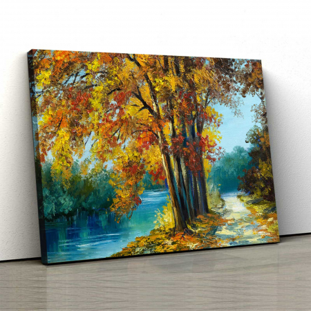 Tablou Canvas - Autumn View0