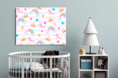 Tablouri Canvas Copii - Little Princess [2]