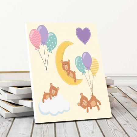 Tablou Canvas Copii - Sleep Bear0