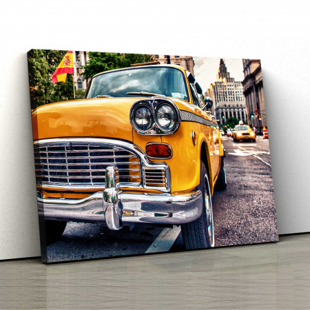 Tablou Canvas - Taxi In New York [0]
