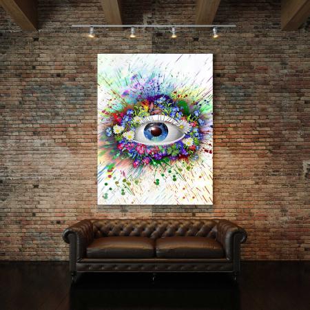 Tablou Canvas - The Eye [2]