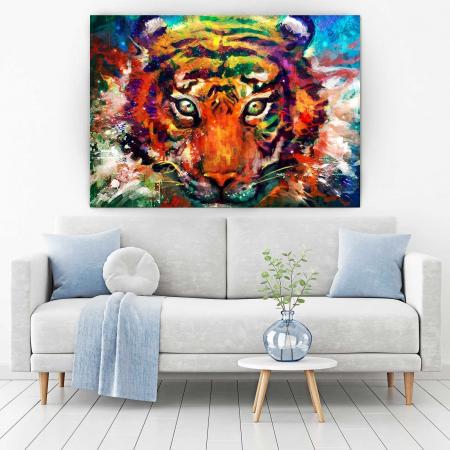 Tablou Canvas - Tiger1