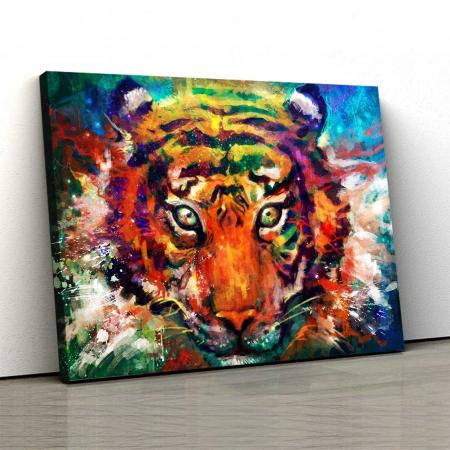 Tablou Canvas - Tiger0