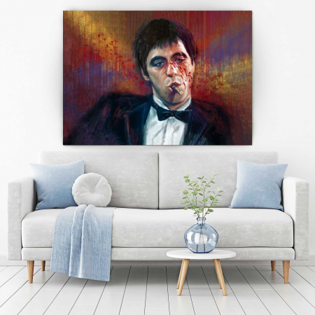 Tablou Canvas - Tony Montana1