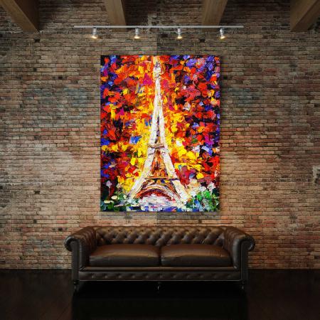 Tablou Canvas - Tower Eiffel [2]