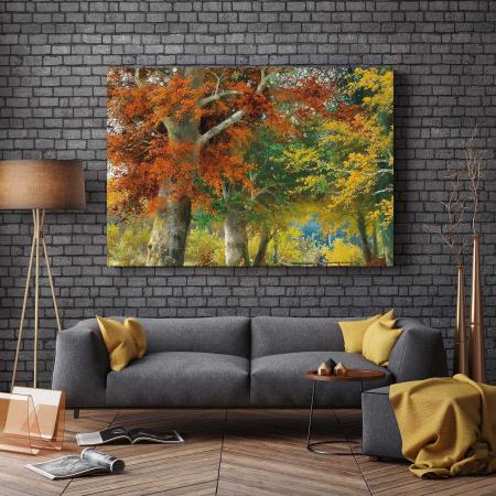 Tablou Canvas - Plimbare Toamna2
