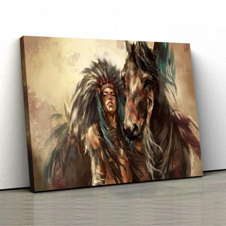 Tablou Canvas - Tribes Man0