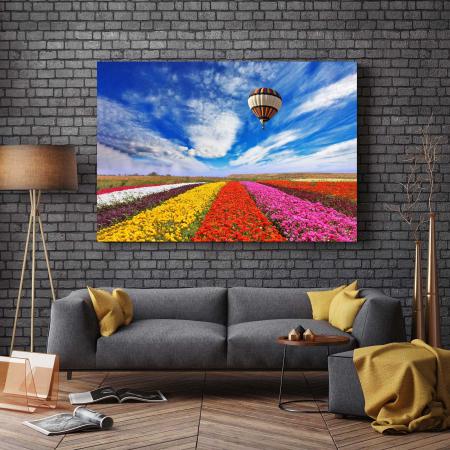 Tablou Canvas - Tulips Field [2]