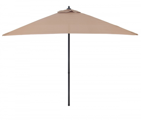 Umbrela Andra soare pentru terasa patrata structura metal maro 200x200 cm [0]