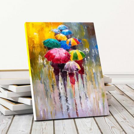 Tablou Canvas - Umbrele0