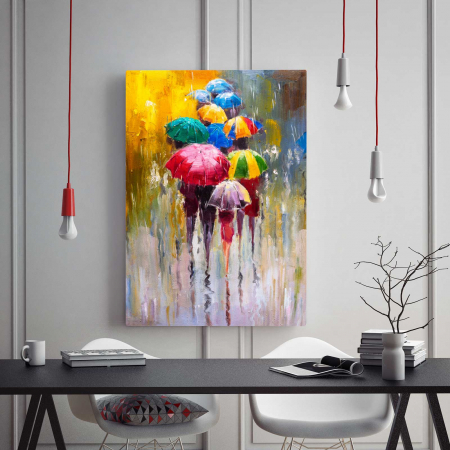 Tablou Canvas - Umbrele1