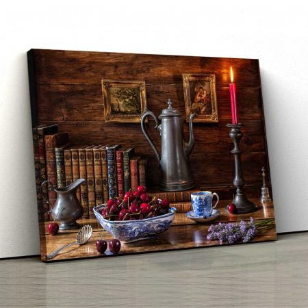 Tablou Canvas - Vintage table [0]